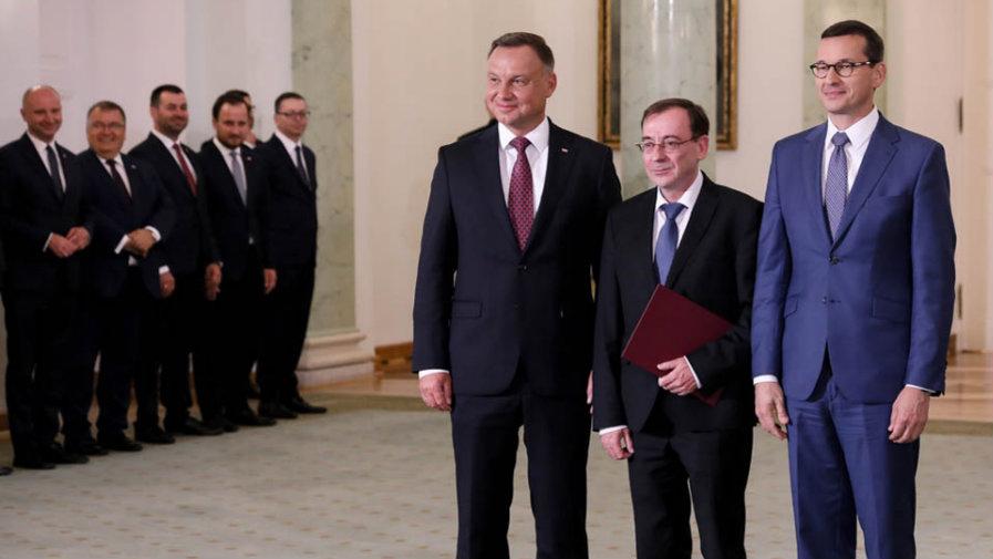 14 - 08 - 2019 - Mariusz Kamiński nowym ministrem spraw wewnętrznych i administracji (...)